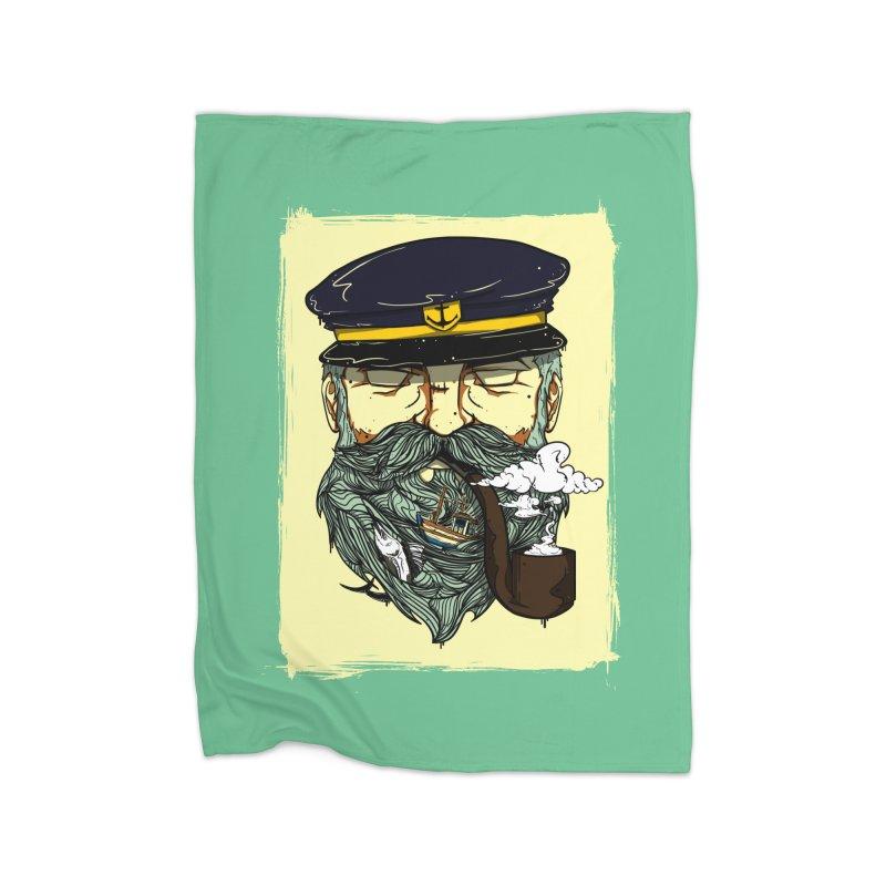 Captain Bluebeard Home Blanket by Sebasebi