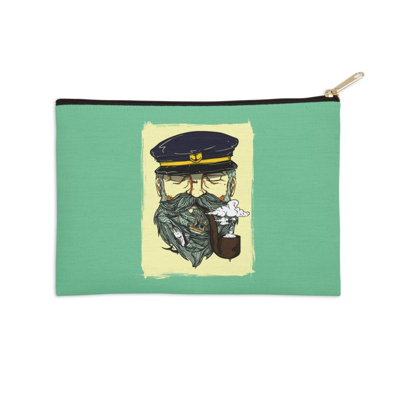 Captain Bluebeard Accessories Zip Pouch by Sebasebi