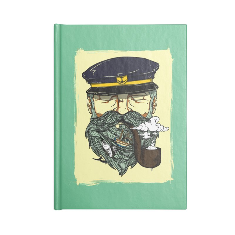 Captain Bluebeard Accessories Notebook by Sebasebi