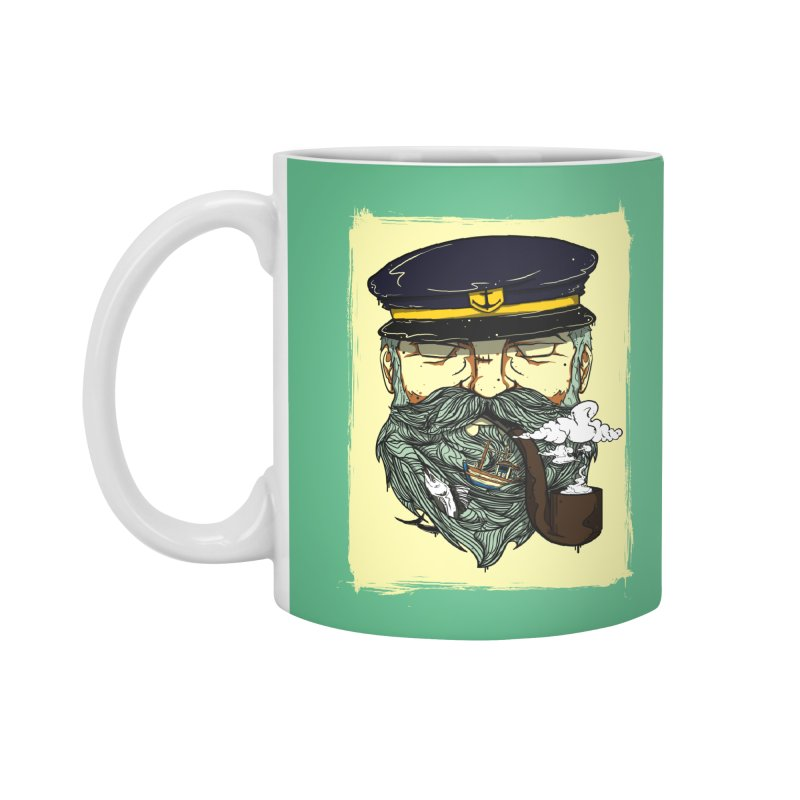Captain Bluebeard Accessories Mug by Sebasebi