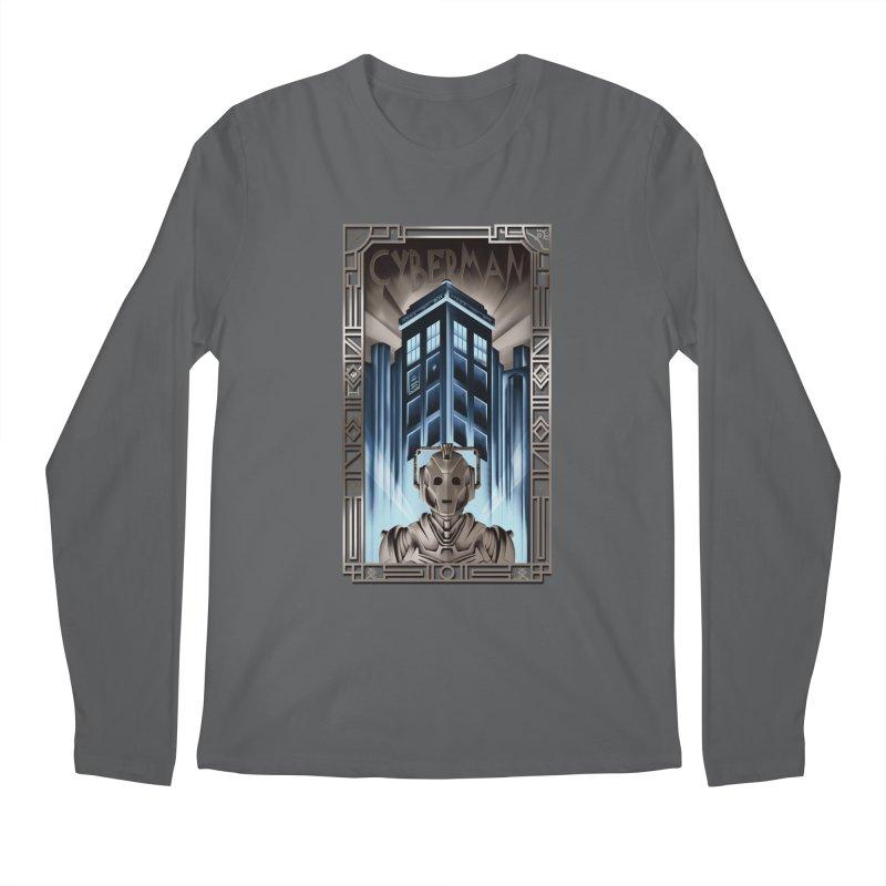 Upgrade your metropolis Men's Longsleeve T-Shirt by Sebasebi
