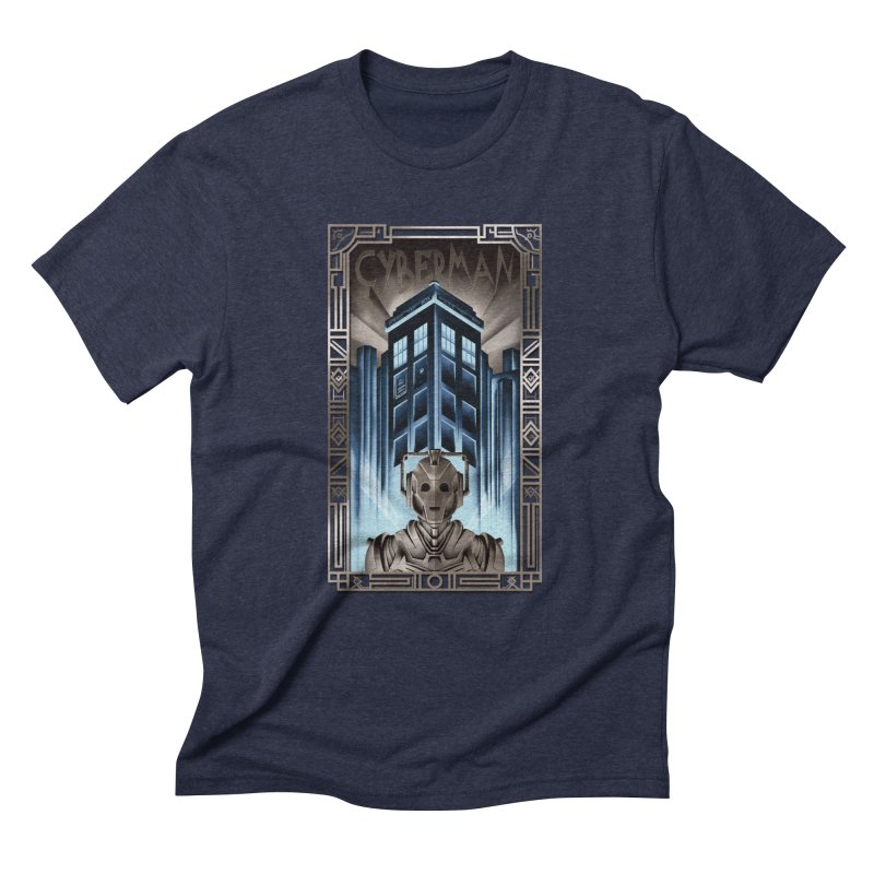 Upgrade your metropolis Men's Triblend T-shirt by Sebasebi