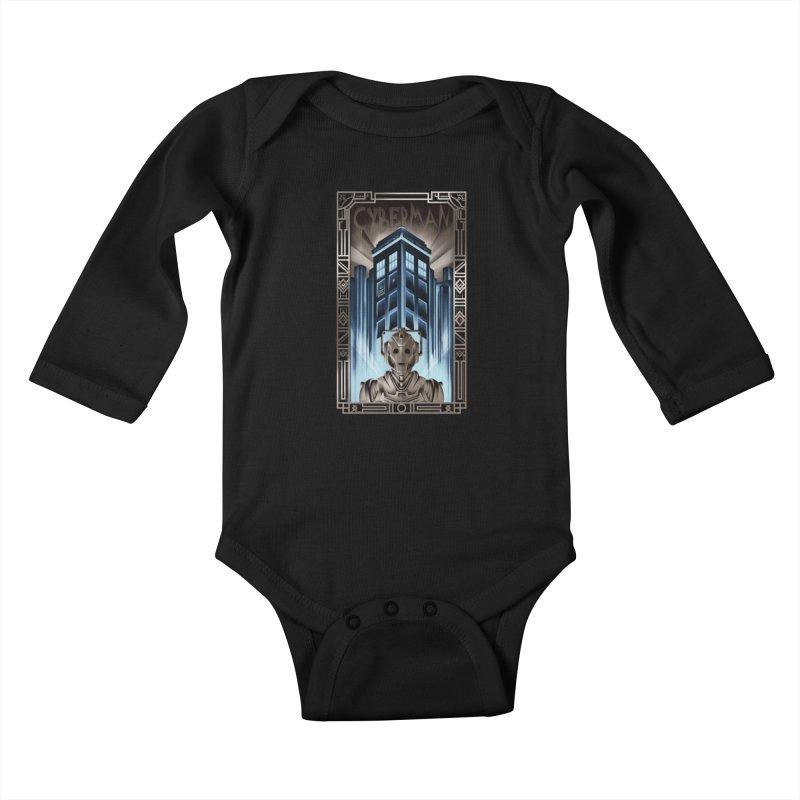Upgrade your metropolis Kids Baby Longsleeve Bodysuit by Sebasebi