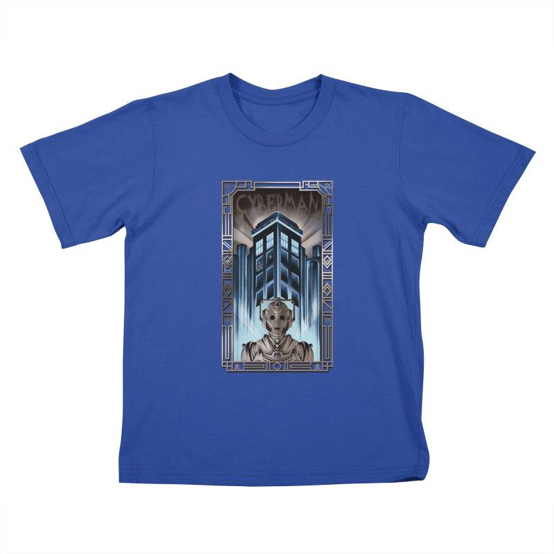 Upgrade your metropolis Kids T-Shirt by Sebasebi