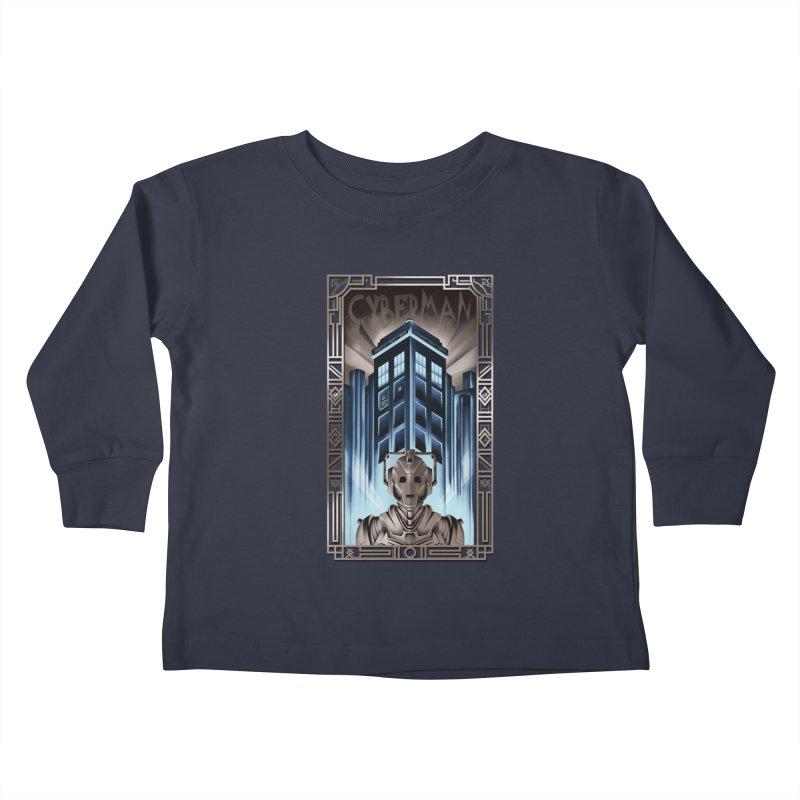 Upgrade your metropolis Kids Toddler Longsleeve T-Shirt by Sebasebi