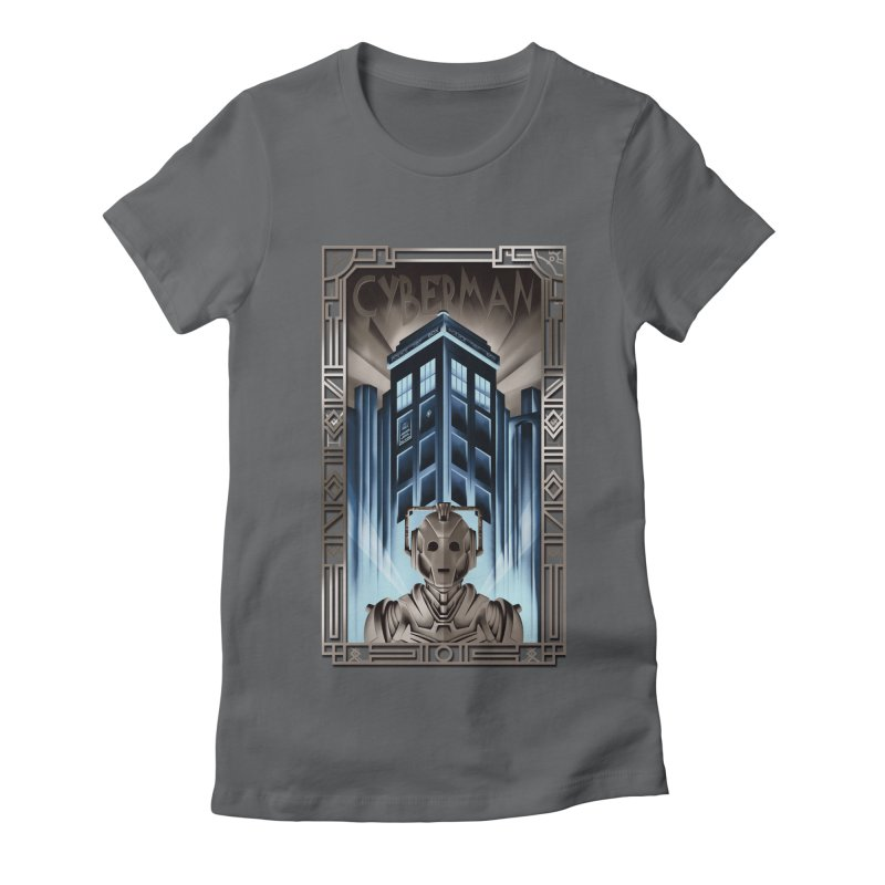 Upgrade your metropolis Women's Fitted T-Shirt by Sebasebi