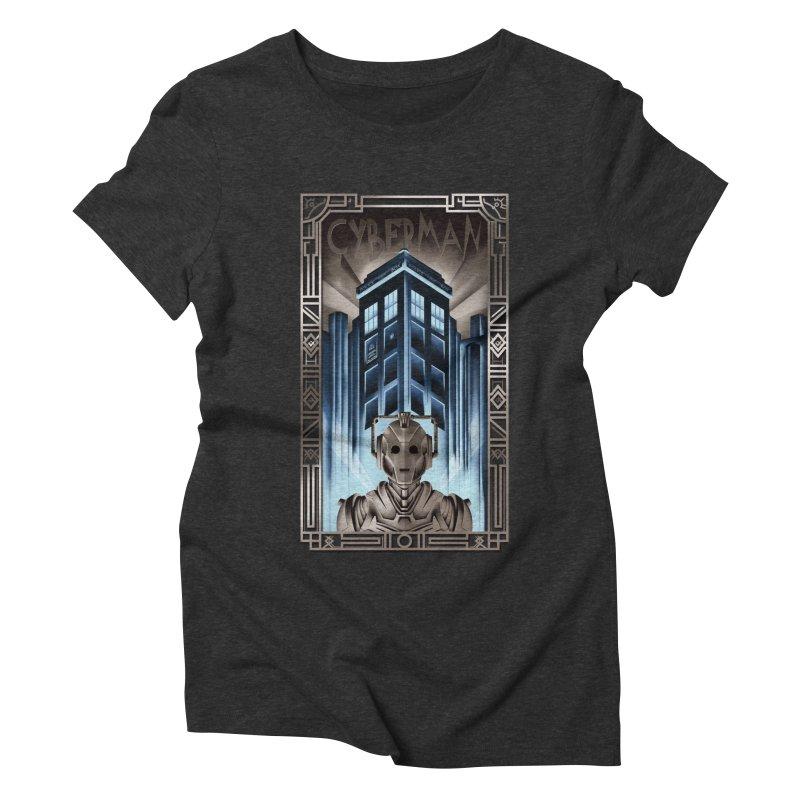 Upgrade your metropolis Women's Triblend T-Shirt by Sebasebi