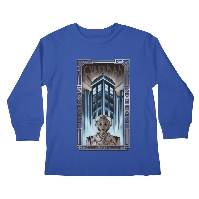Upgrade your metropolis Kids Longsleeve T-Shirt by Sebasebi