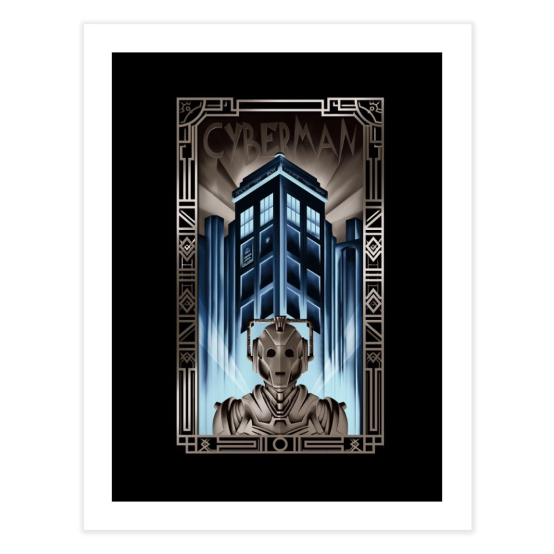 Upgrade your metropolis Home Fine Art Print by Sebasebi