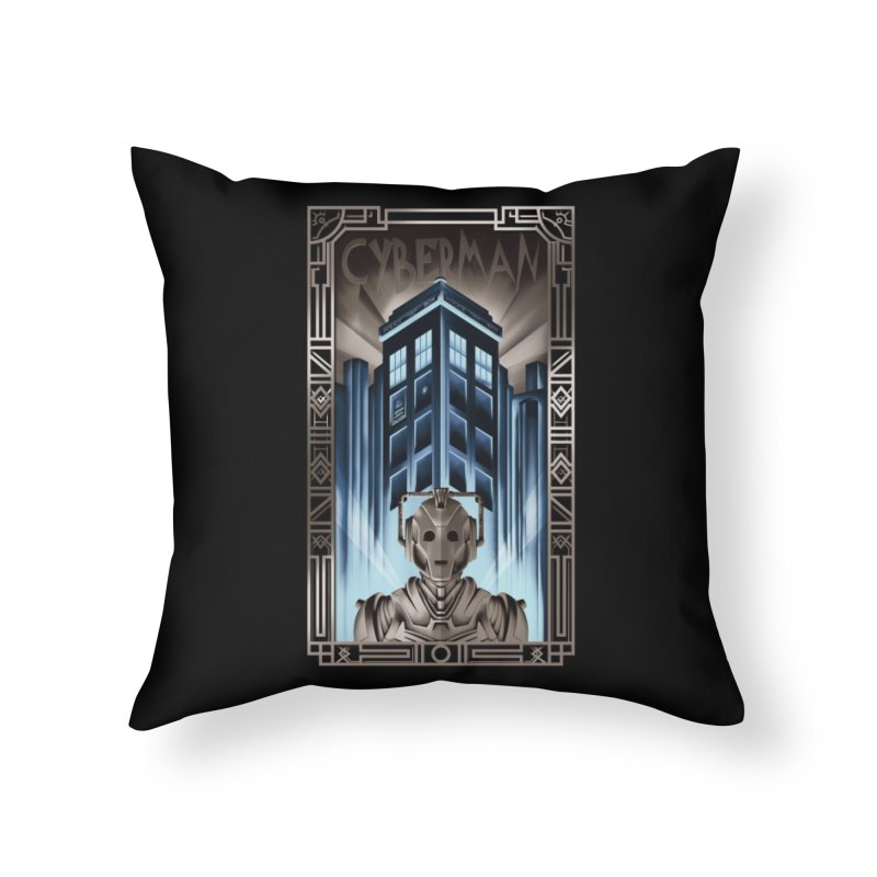 Upgrade your metropolis Home Throw Pillow by Sebasebi