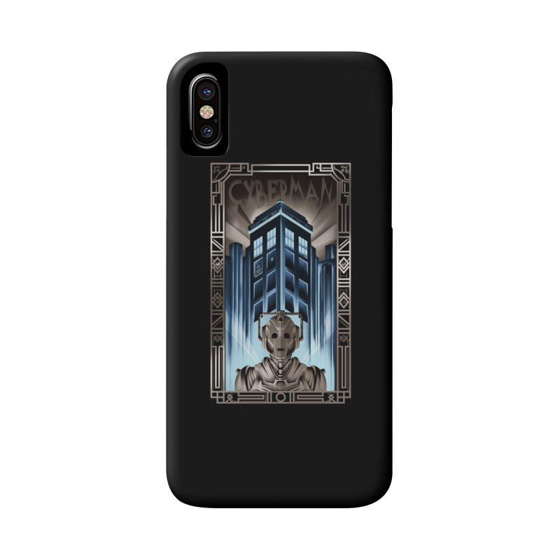 Upgrade your metropolis Accessories Phone Case by Sebasebi