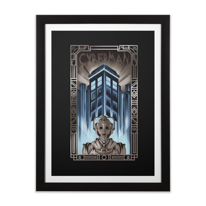 Upgrade your metropolis Home Framed Fine Art Print by Sebasebi