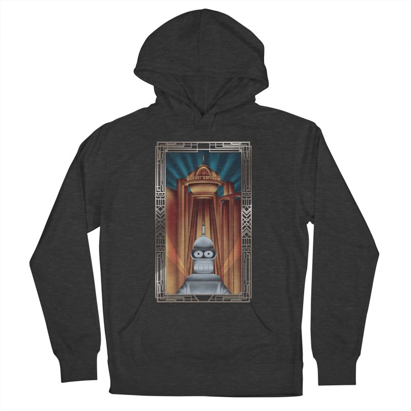 New new yorkpolis Men's French Terry Pullover Hoody by Sebasebi
