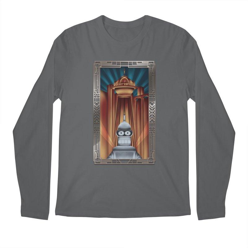 New new yorkpolis Men's Longsleeve T-Shirt by Sebasebi