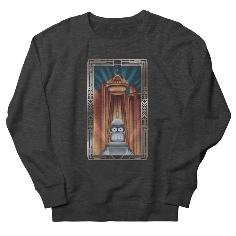 New new yorkpolis Men's French Terry Sweatshirt by Sebasebi
