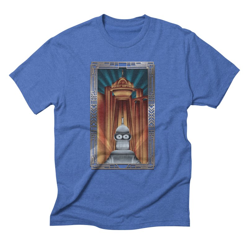 New new yorkpolis Men's Triblend T-Shirt by Sebasebi