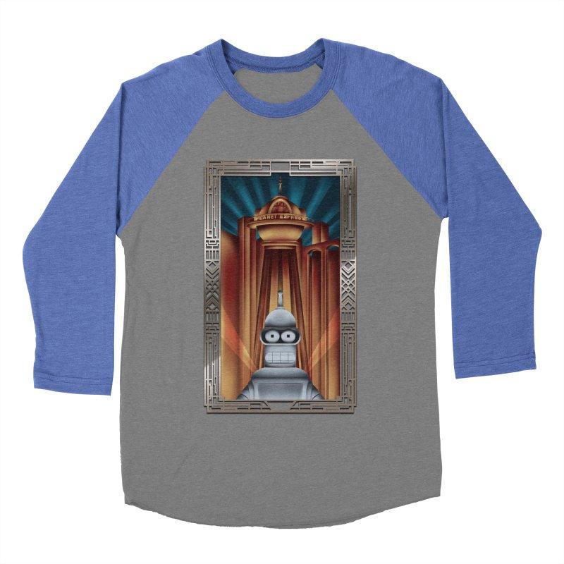 New new yorkpolis Men's Baseball Triblend T-Shirt by Sebasebi