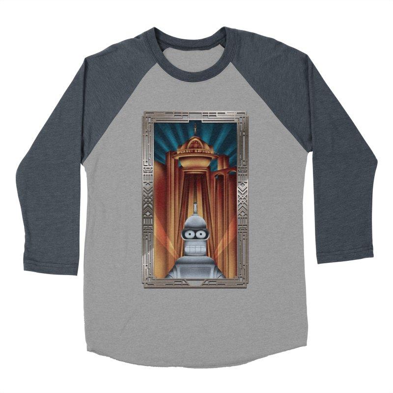 New new yorkpolis Men's Baseball Triblend Longsleeve T-Shirt by Sebasebi