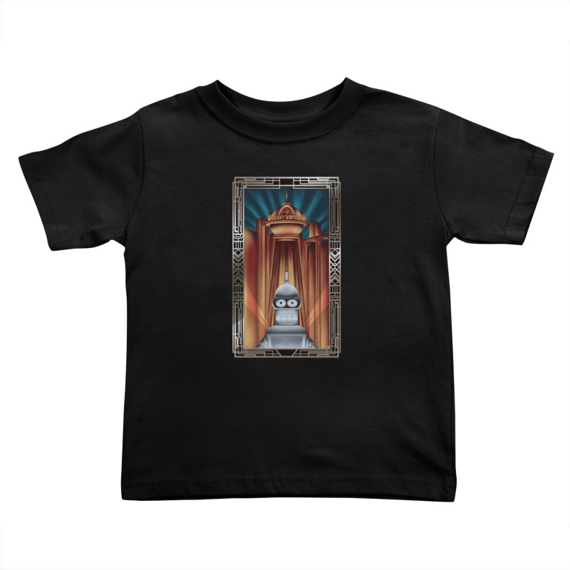 New new yorkpolis Kids Toddler T-Shirt by Sebasebi