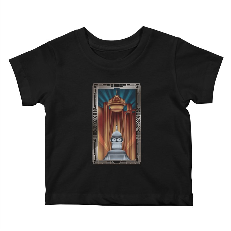 New new yorkpolis Kids Baby T-Shirt by Sebasebi