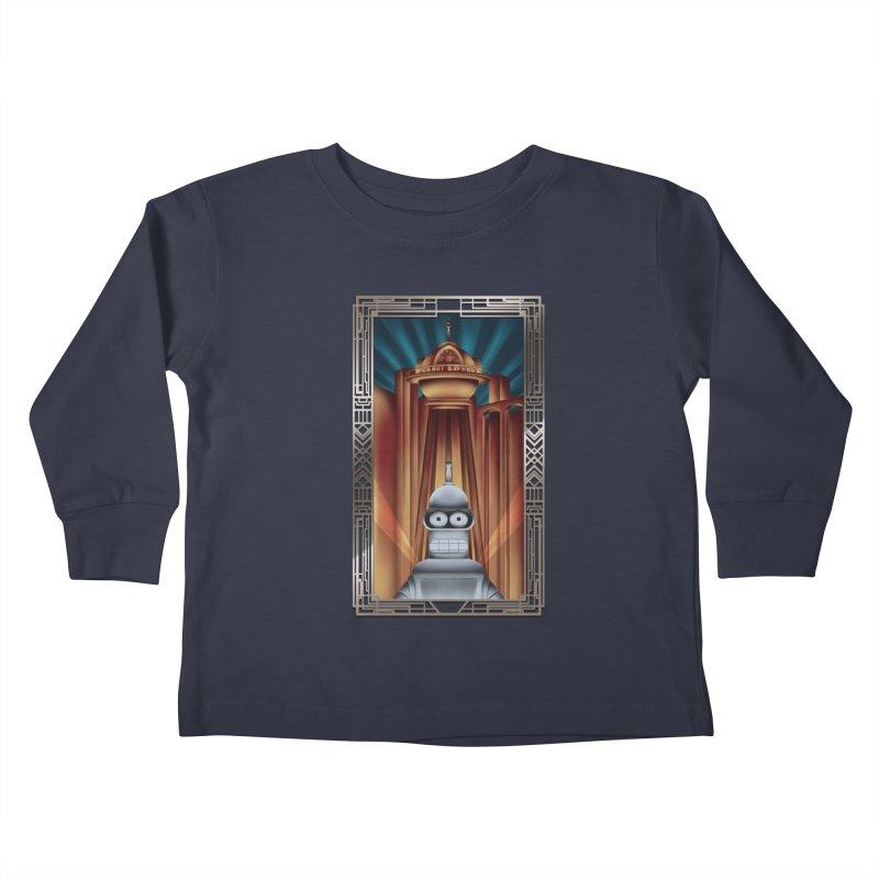 New new yorkpolis Kids Toddler Longsleeve T-Shirt by Sebasebi