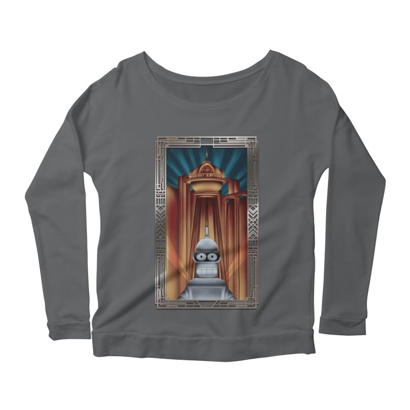 New new yorkpolis Women's Scoop Neck Longsleeve T-Shirt by Sebasebi
