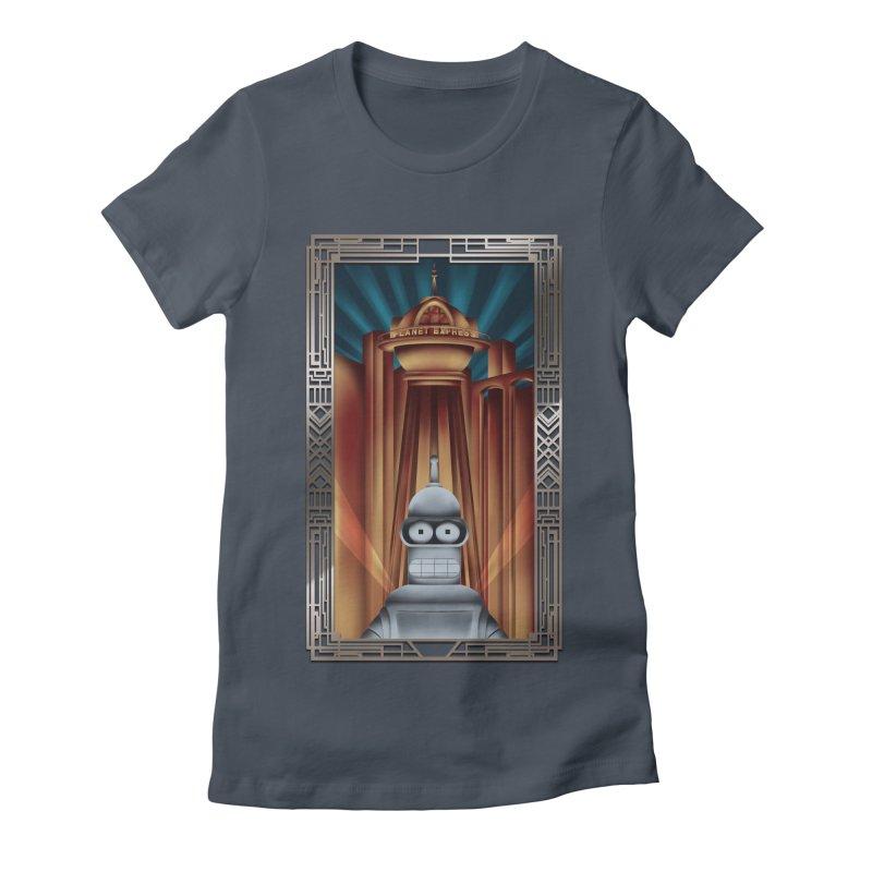 New new yorkpolis Women's Fitted T-Shirt by Sebasebi