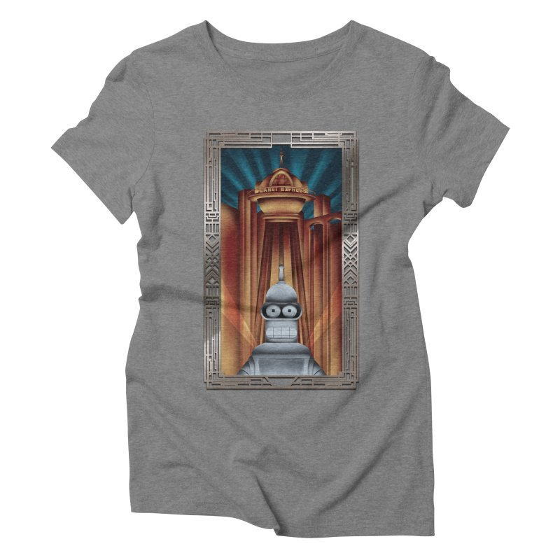 New new yorkpolis Women's Triblend T-Shirt by Sebasebi
