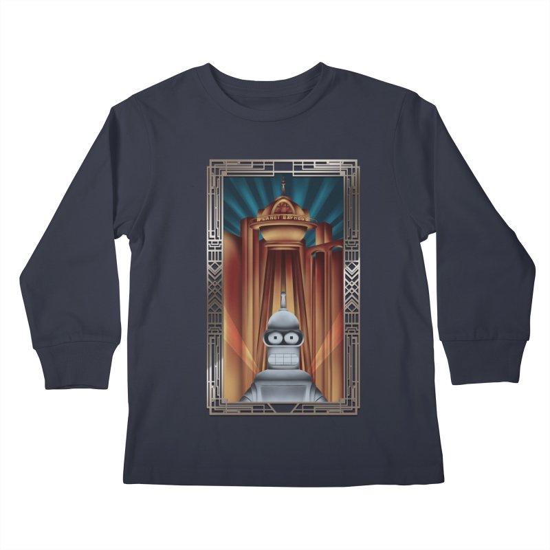 New new yorkpolis Kids Longsleeve T-Shirt by Sebasebi
