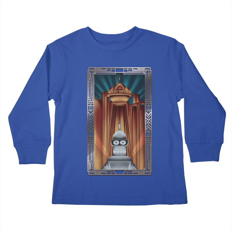 New new yorkpolis Kids Longsleeve T-Shirt by Sebasebi