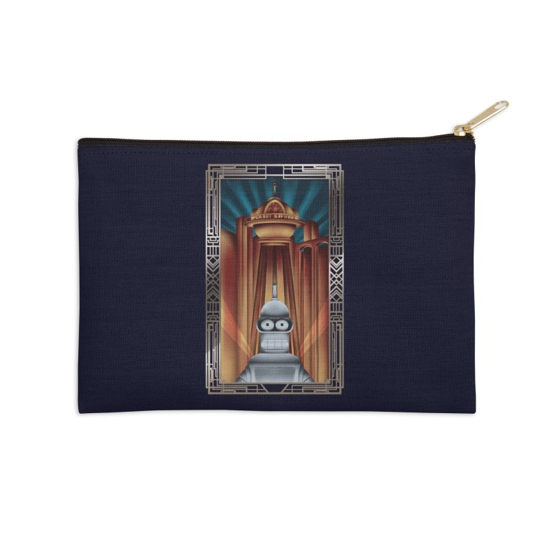 New new yorkpolis Accessories Zip Pouch by Sebasebi