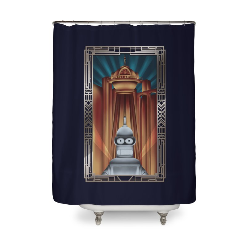 New new yorkpolis Home Shower Curtain by Sebasebi