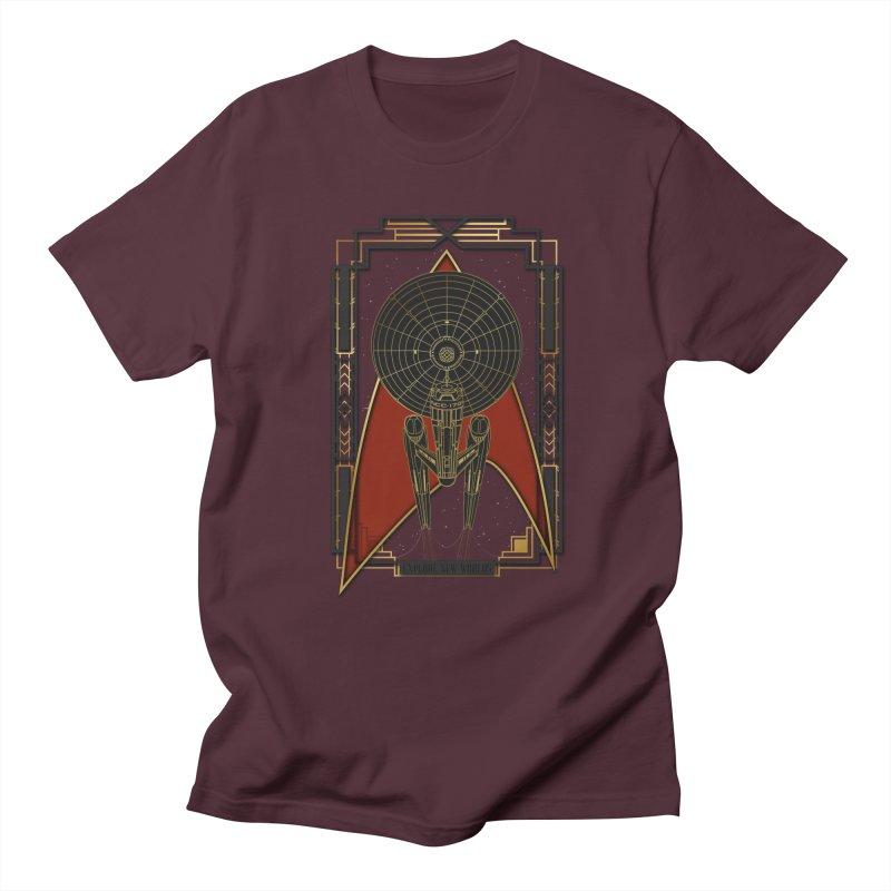 Explore new worlds Women's Unisex T-Shirt by Sebasebi