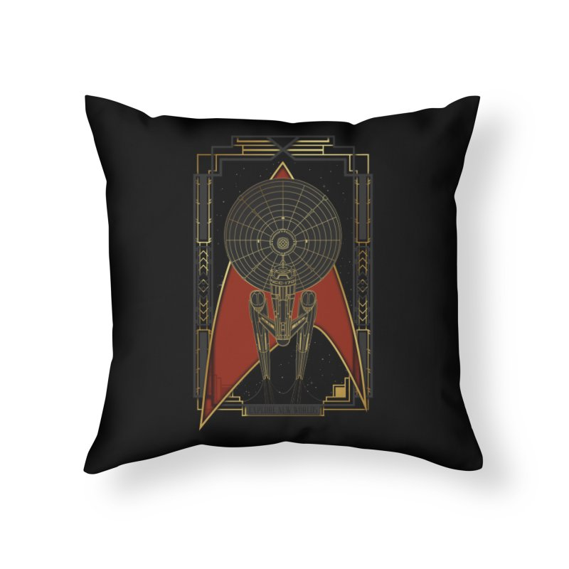 Explore new worlds Home Throw Pillow by Sebasebi