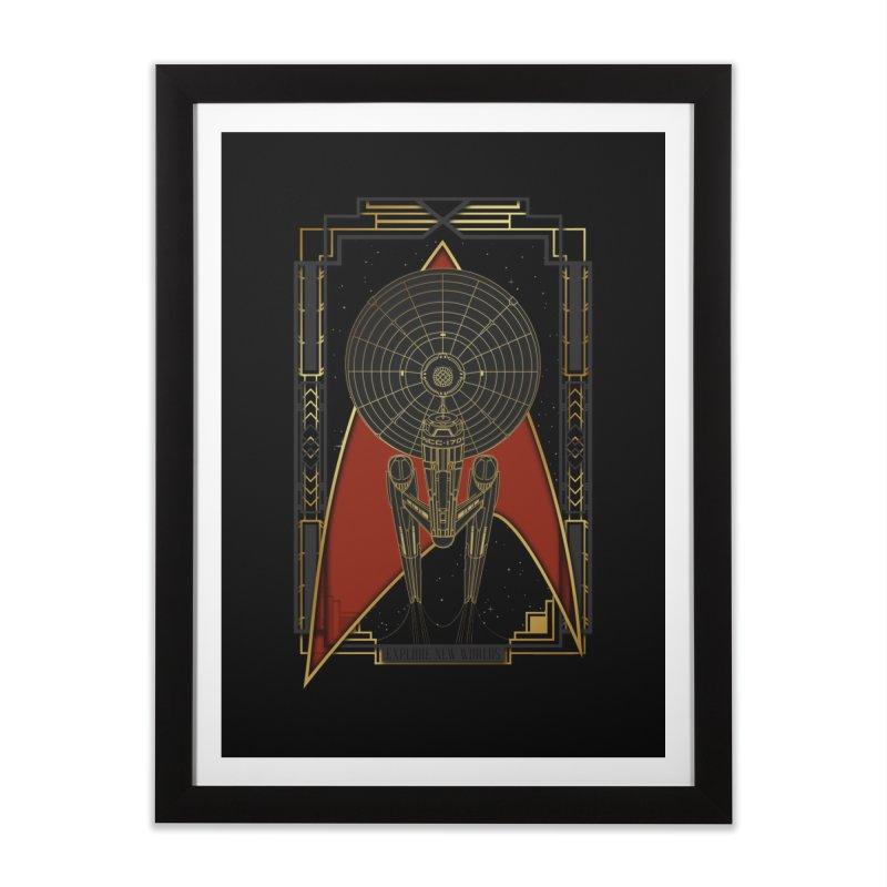 Explore new worlds Home Framed Fine Art Print by Sebasebi
