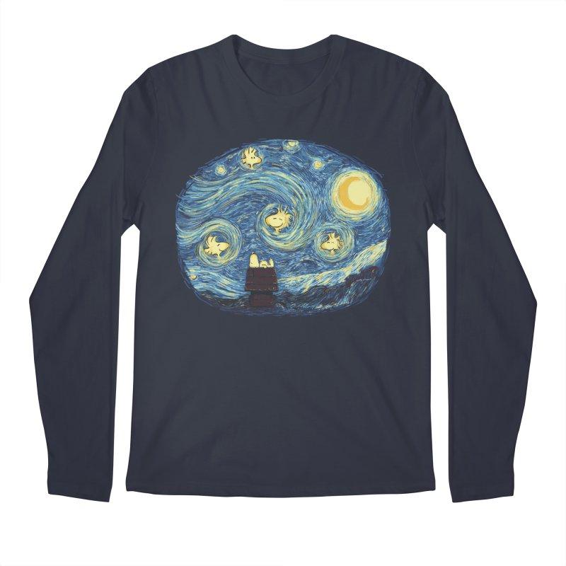 Woody night Men's Longsleeve T-Shirt by Sebasebi
