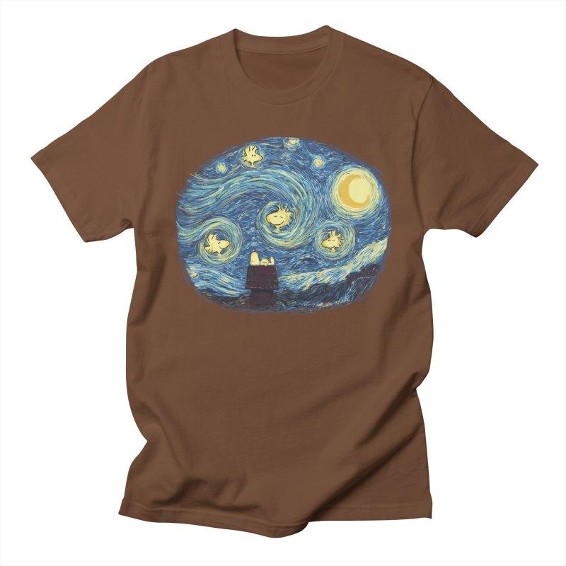 Woody night Women's Regular Unisex T-Shirt by Sebasebi