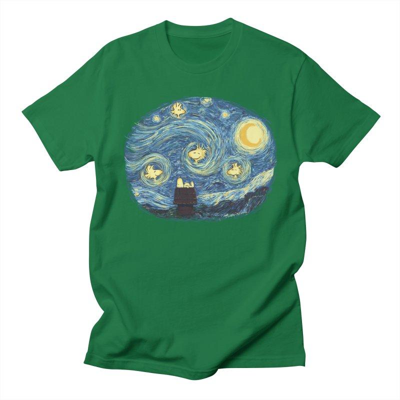 Woody night Women's Unisex T-Shirt by Sebasebi