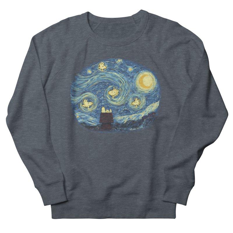 Woody night Women's Sweatshirt by Sebasebi