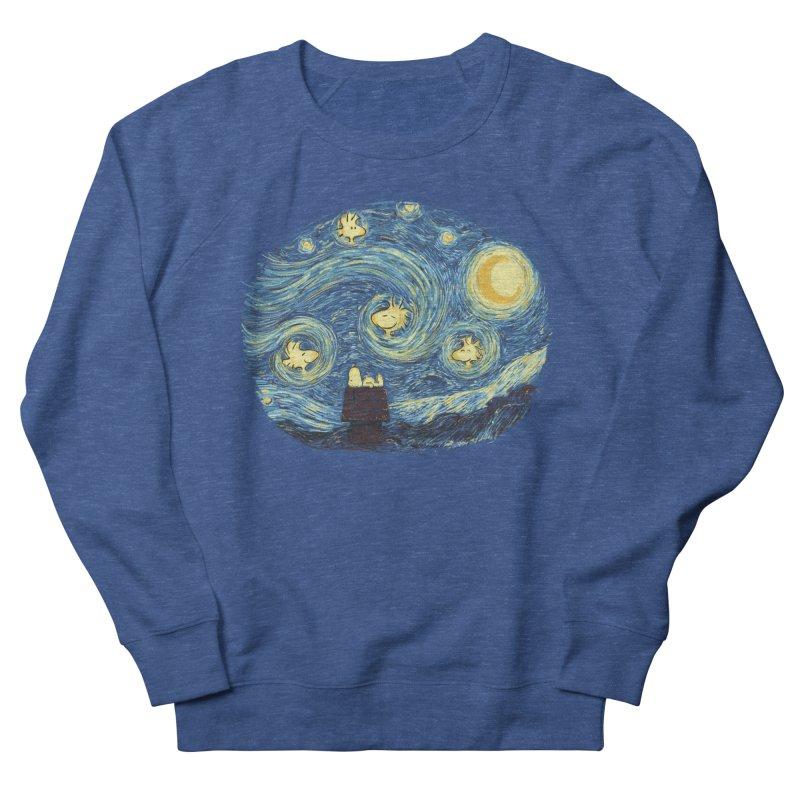 Woody night Men's French Terry Sweatshirt by Sebasebi