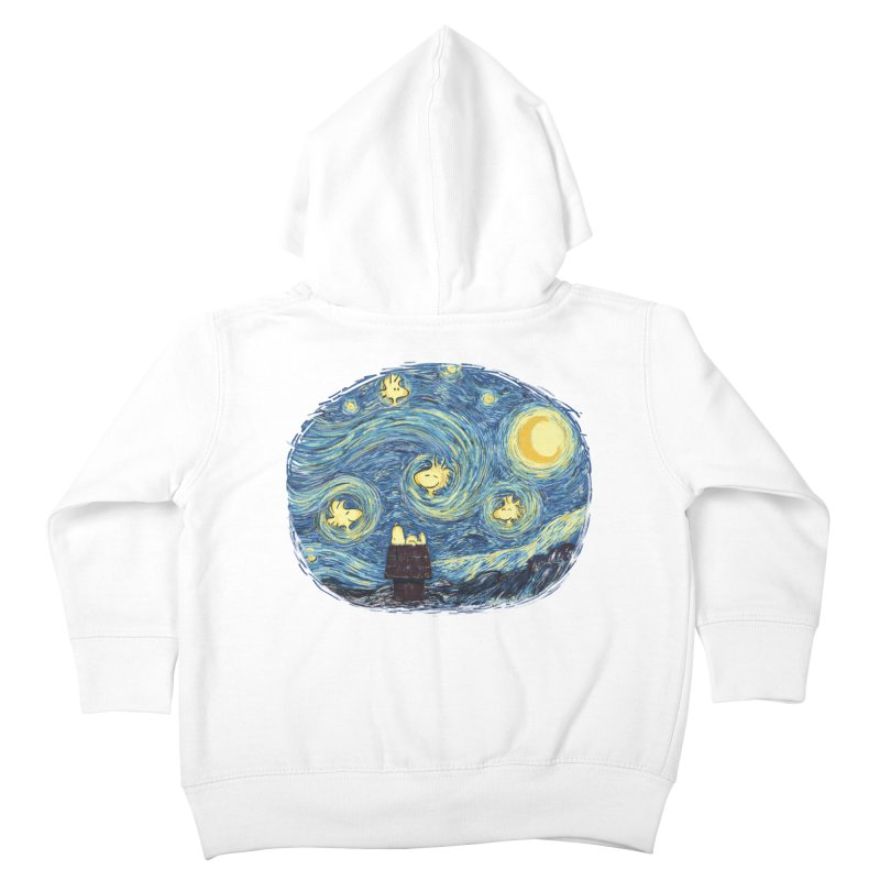 Woody night Kids Toddler Zip-Up Hoody by Sebasebi