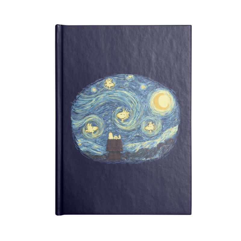 Woody night Accessories Notebook by Sebasebi