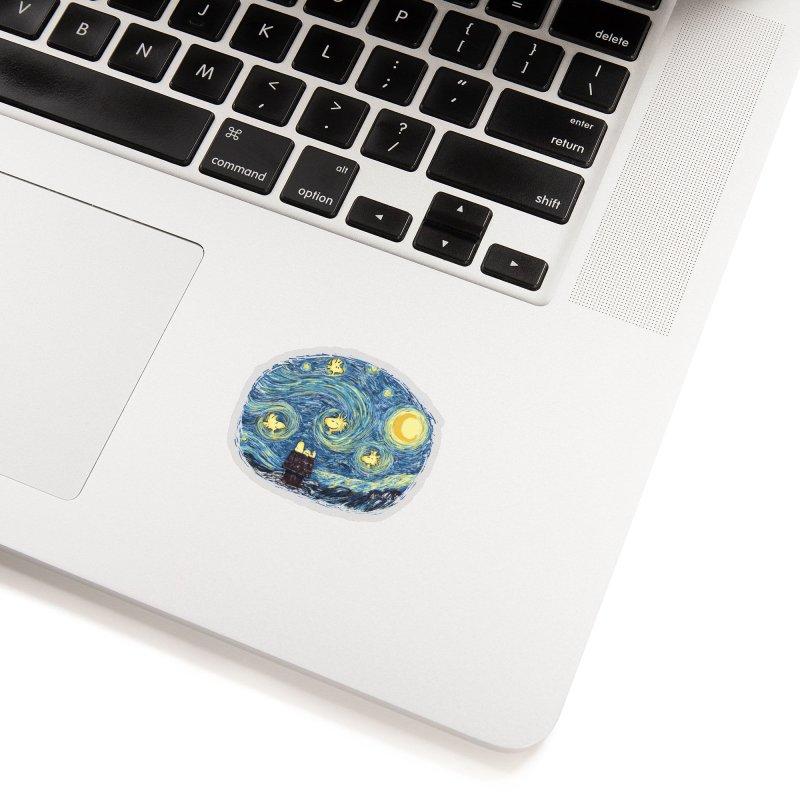 Woody night Accessories Sticker by Sebasebi