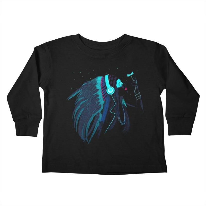 Natural Contact Kids Toddler Longsleeve T-Shirt by Sebasebi