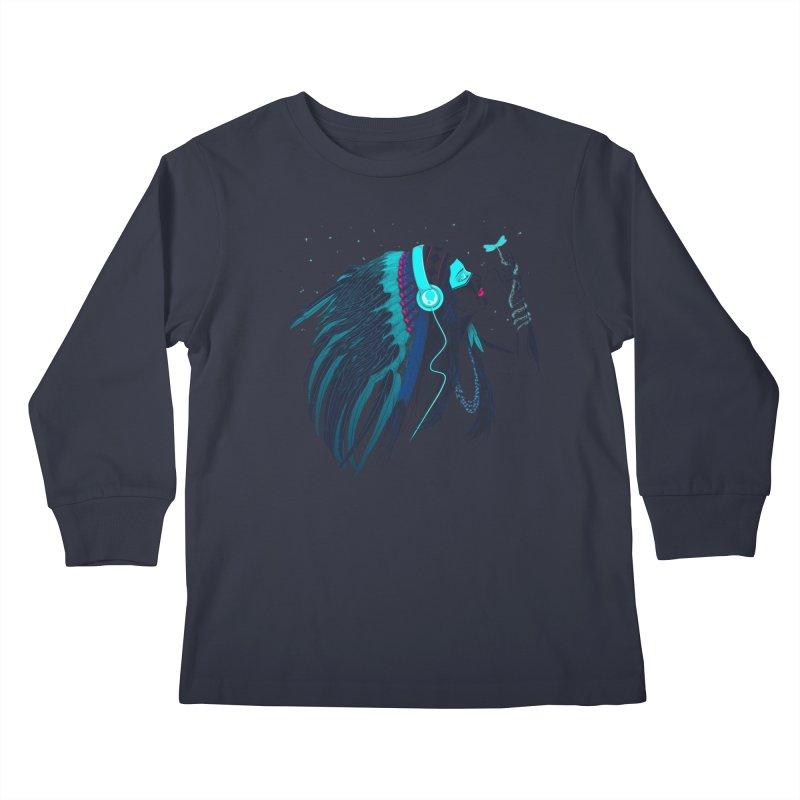 Natural Contact Kids Longsleeve T-Shirt by Sebasebi
