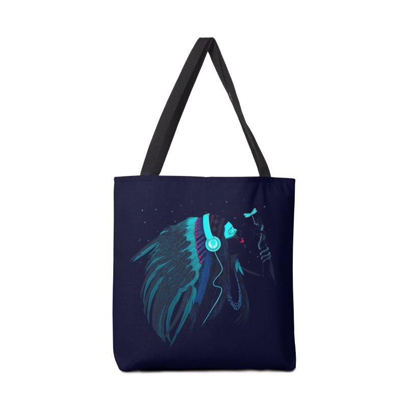 Natural Contact Accessories Bag by Sebasebi