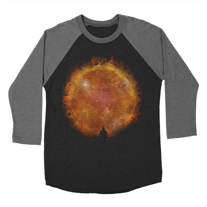 See the Sun Men's Baseball Triblend T-Shirt by Sebasebi
