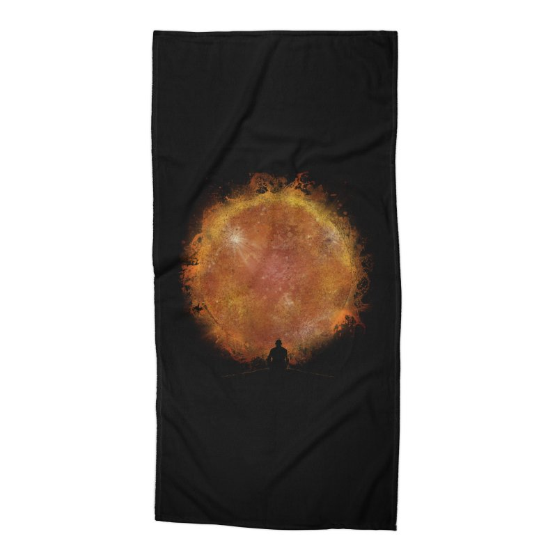 See the Sun Accessories Beach Towel by Sebasebi