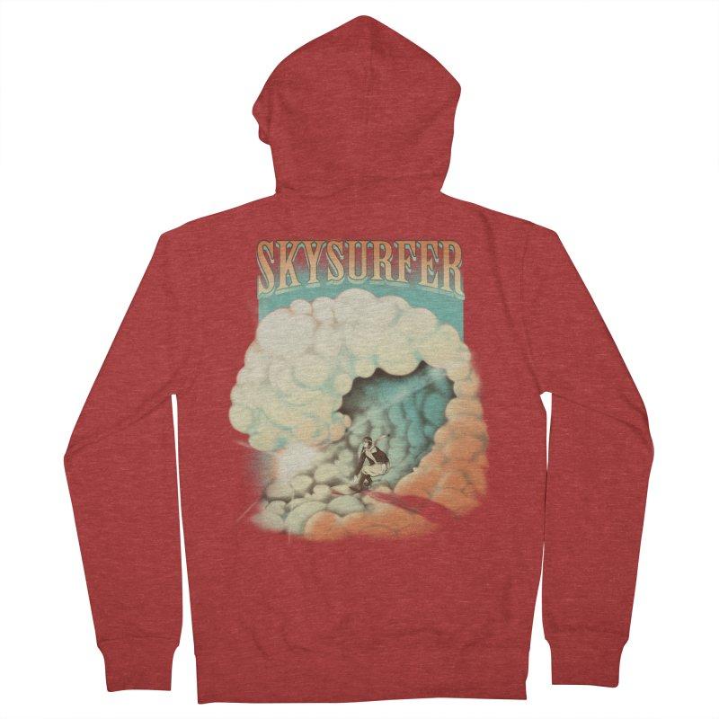 Skysurfer Men's Zip-Up Hoody by Sebasebi