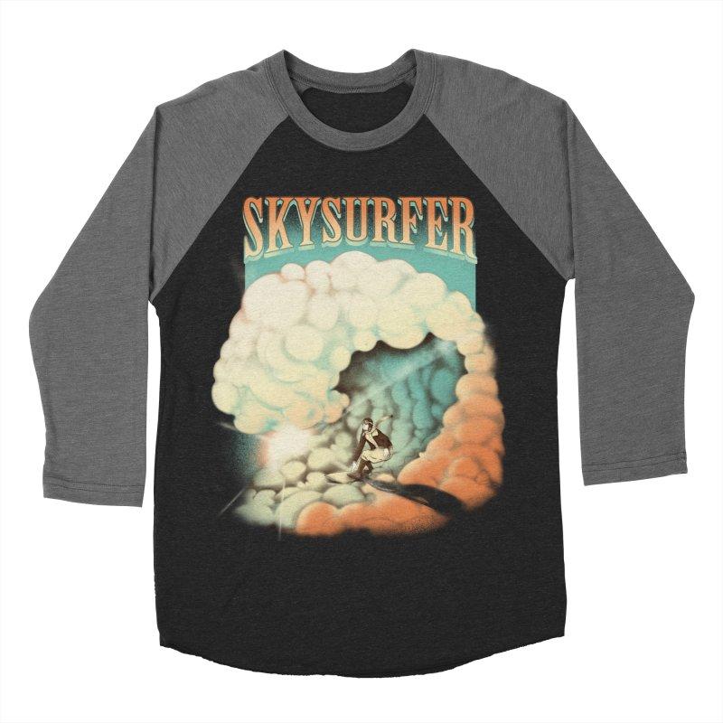 Skysurfer Women's Baseball Triblend T-Shirt by Sebasebi